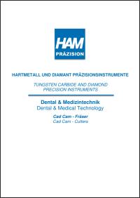 Dental CAD/CAM-Fräser